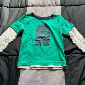6/$25 Toddler boys 2 fer shirt.